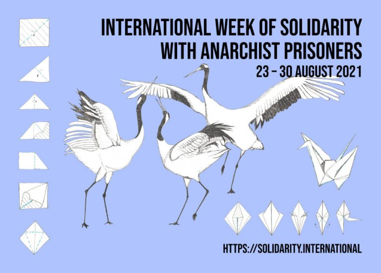 International Week of Solidarity with Anarchist Prisoners