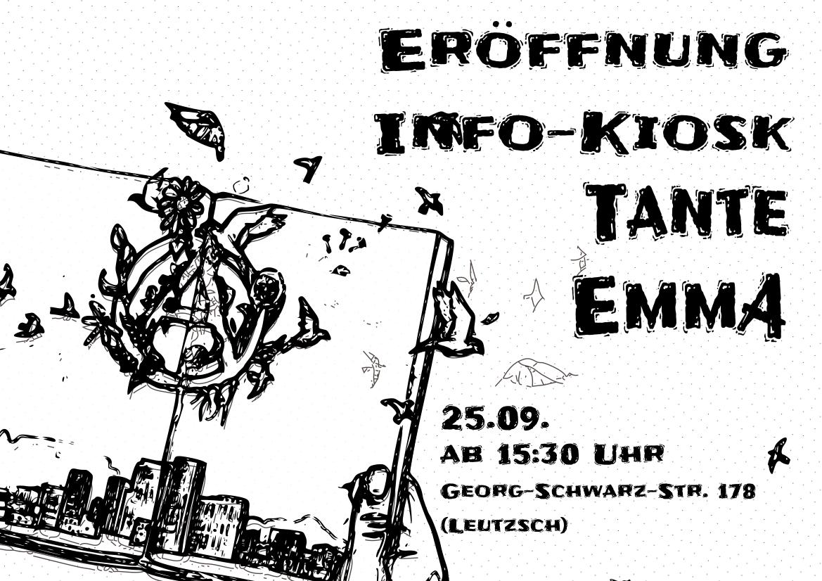 Eröffnung Info-Kiosk Tante Emma