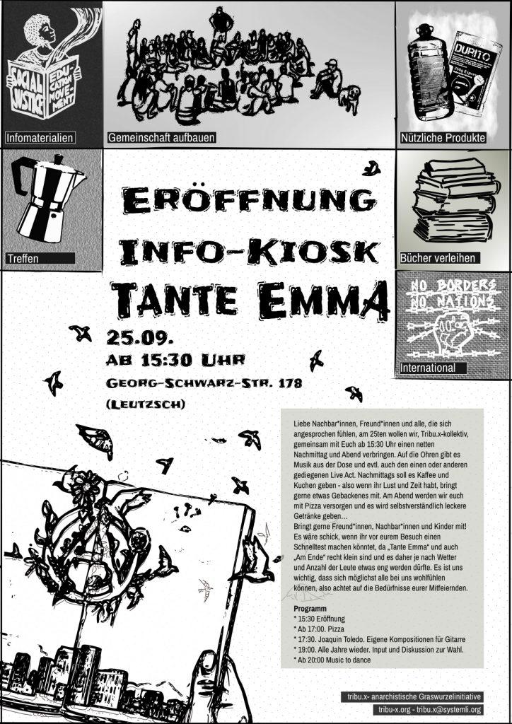 Info-Kiosk Tante Emma