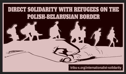 Direkte Solidarität mit den Geflüchtete an…